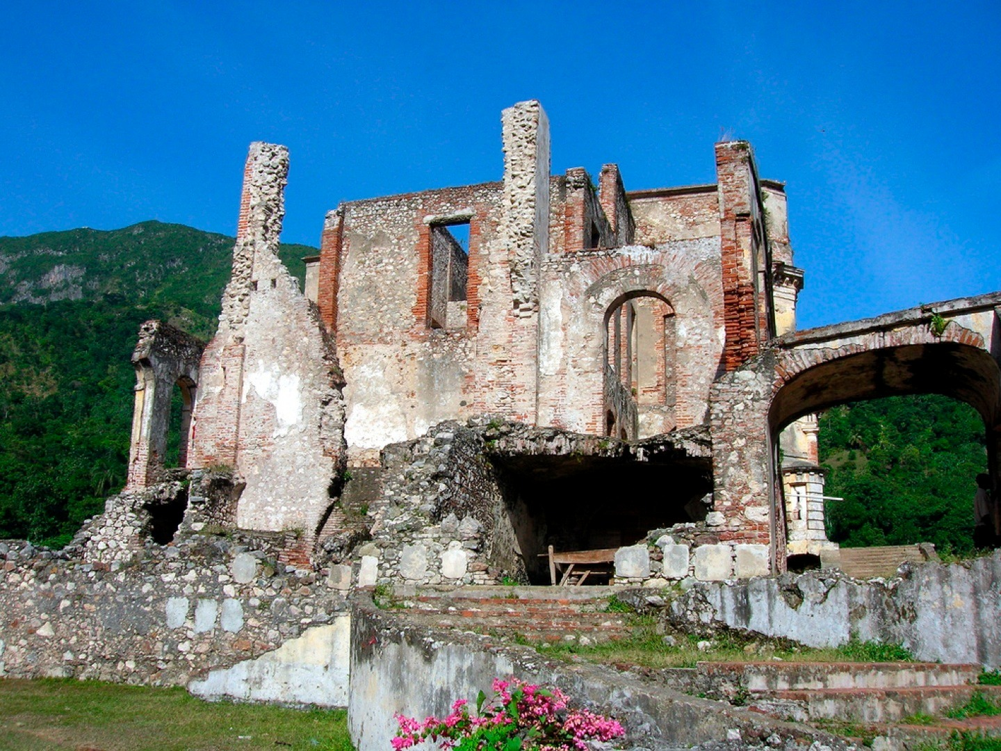 Exploring the under visited ruins of Palais de Sans Souci is just one of the top reasons to visit Haiti!