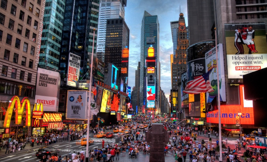 New York on a budget: possible to do, even in Times Square!
